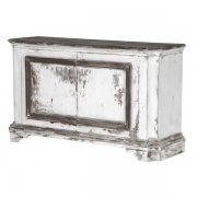 Heavy Distressed 2 Door Sideboard