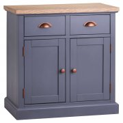 Grey Two Door Two Drawer Sideboard