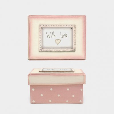 Pink blush box-With love