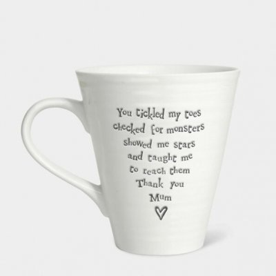 Porcelain Mug You Tickled My Toes
