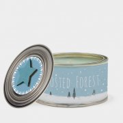Woodland candle-Frosted forest