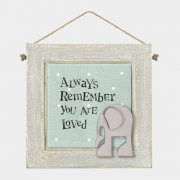 Animal Magic Wooden Picture - Always remember you are loved