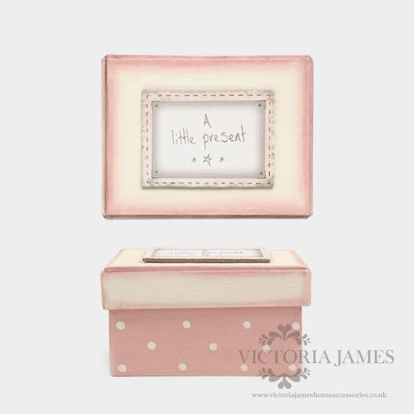 Pink blush box-Little Present - Click Image to Close