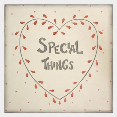 Large Wooden Keepsake Box - Special Things