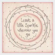 Large Wooden Keepsake Box - Leave a Sparkle