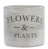Stone Effect Flowers & Plants Pot Cover