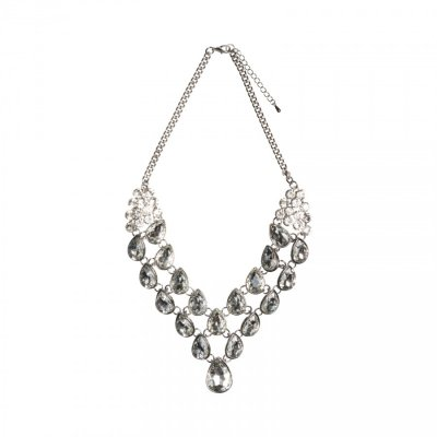Necklace - Elegant Diamante