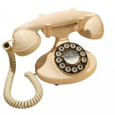 Push Button Telephone - Pearl