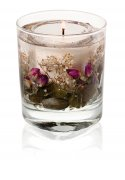 Gel Tumbler, Botanicals - English Rose Natural Wax