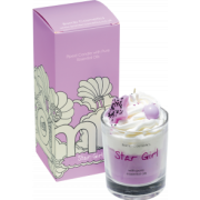 Piped Glass Candle - StarGirl