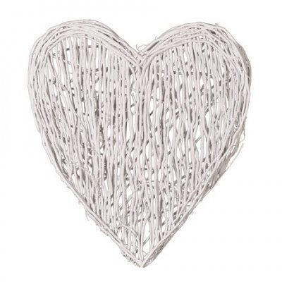 White Willow Heart Large