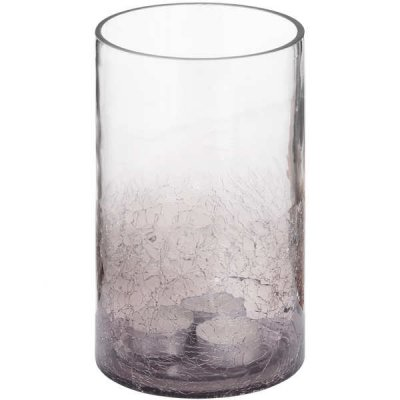 Medium Crackled Effect Candle Holder