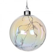 Large Iridescent Hanging Bauble
