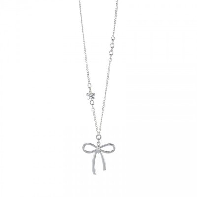 Necklace - Long chain with bow