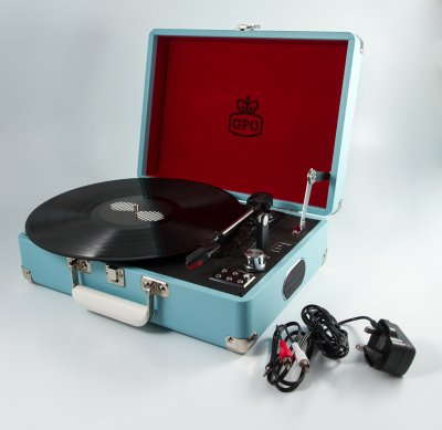 Attache Case - Sky Blue