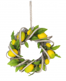 Lemon Twig Leaf Wreath