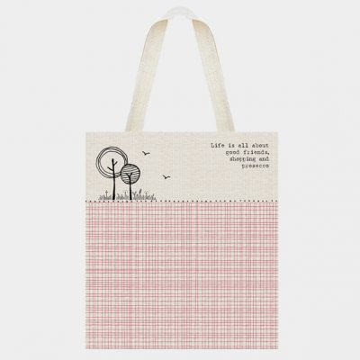Shopping bag - Life is about good friends