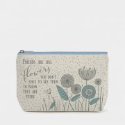 Cosmetic bag - Friends are like flowers