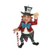 Resin 'Mad Hatter' Decoration