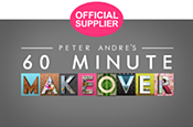 Official Supplier of Peter Andre's 60 Minute Makeover