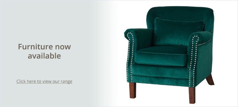 Furniture now available - Click here to view our range